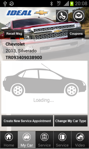 Ideal Chevrolet My Car App