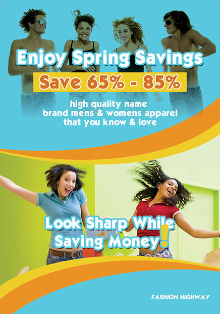 Enjoy Spring Savings
