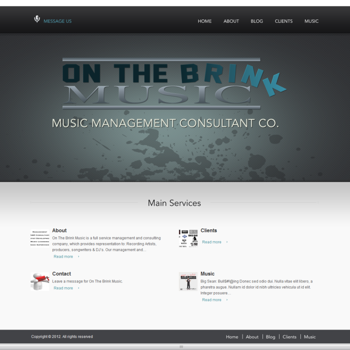 On The Brink Music   Management – A R Consultant – Artist Development-103909