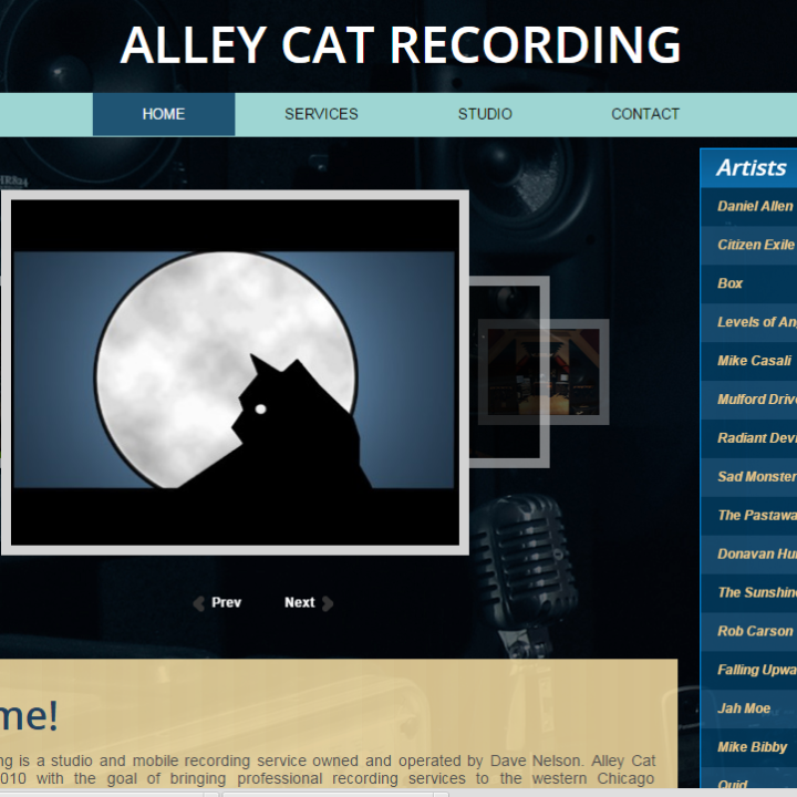 Alley Cat Recording